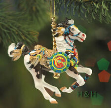 Breyer 700904 Native American Carousel Christmas Horse Porcelain Ornament NIB
