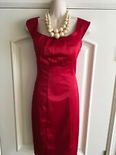 The Limited Red Satin Dress Size 4