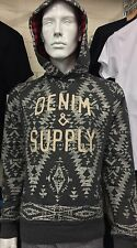 Denim And Supply Ralph Lauren Mens Pullover Hoodie Size XS