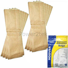 10 x H1 Dust Bags for Hoover U101 U1012 U1014 Vacuum Cleaner