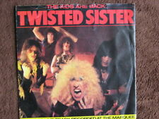 TWISTED SISTER - THE KIDS ARE BACK / SHOOT EM DOWN 7in vinal