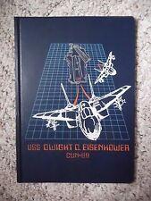 USS Dwight D. Eishenhower CUN-69 Plastic Notepad Holder