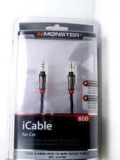 MONSTER 129338 iCable 3.5mm 3'FT Cable for MP3/iPod to Car Stereo Aux input