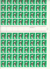 Stamps Australia 1969 Primary Industry 15c complete sheet 100 MUH & sheet number