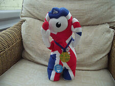 London 2012 Olympics Wenlock singing & dancing mascot 36cm tall
