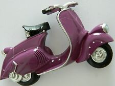 violet Style Mod Motorcycle Scooter 3D Fridge Magnet Classic Italian Vespa Bike