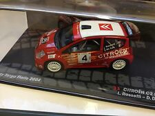 CITROEN C2 S1600-ROSSETTI- RALLYE TARGA FLORIO-COLLECTION IXO RALLY CAR 1/43