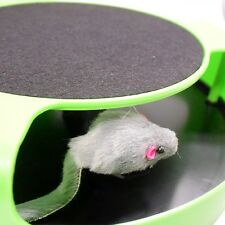 New Pet Cat Kitten Toys Moving Inside Roped Funny Mouse Play Toys Catch Mouse
