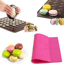 Oven Silicone Macaron Macaroon Baking Sheet Mat Large Double Sided Dessert Mold