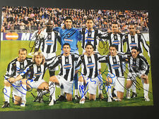 JUVENTUS TURIN  10 x signiert  signed In-person Photo IBRAHIMOVIC RAR