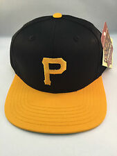 PITTSBURGH PIRATES BLACK/GOLD RETRO THE ORIGINAL SNAPBACK CAP BY A. NEEDLE