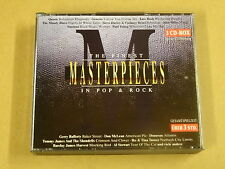 3-CD BOX / THE FINEST MASTERPIECES IN POP & ROCK