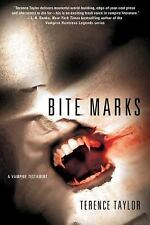 Bite Marks _ A Vampire Testament by Terence Taylor SC new