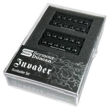 Seymour Duncan SH-8 INVADER Humbucker Guitar Neck & Bridge Pickup Set  BLACK