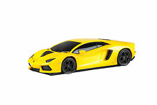 Lamborghini Aventador LP700-4 Car Wireless Laser Computer Mouse - Yellow