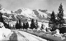 France - Lans-en-Vercors, Route a Autrans - Real Photo Postcard Franked 1956