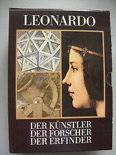 3 Bd. Leonardo Künstler Forscher Erfinder 1981 Da Vinci
