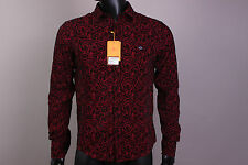 New Amazing Red  Button-Front Etro Casual Men's Shirt Size XXL