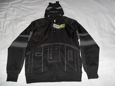 SHADOW TROOPER Star Wars Black Hoodie Adult Sm NWT Stormtrooper Jacket Costume