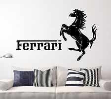 Ferrari Cars  Wall Decal Sports F1 Sticker Decor Vinyl  Many sizes