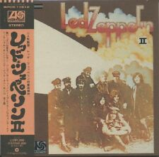 LED ZEPPELIN Led Zeppelin II Japan Mini LP CD WPCR-11612