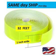 Coal Mining Reflective one inch wide - 32 ft. ROLL - sew in or glue on BULK