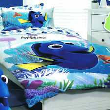 Finding Nemo - Dory - Coral - Single/US Twin Bed Quilt Doona Duvet Cover Set