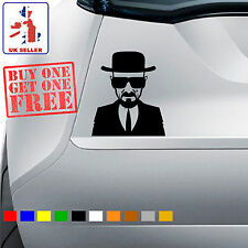 Breaking Bad Heisenberg Car Decal Sticker Vinyl Walter White Wall Mac Ipad