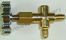 1114SM One Way Manifold without Gauge can be used with R410A R22 R134a R404A