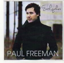 (DK959) Paul Freeman, Earthquakes - DJ CD
