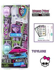 Monster High CREATE A MONSTER Doll DESIGN LAB Add On Pack MYSTICAL Parts Set !