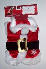 NWT PET SANTA SUIT COSTUME with Hat Size Small Christmas Dog Cat