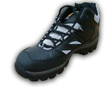Walklander Flexible Safety Trainers Lace Up with Steel Toe Caps in Black Size 11