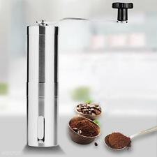 Stainless Steel Manual Coffee Grinder Burr Mill for Peppers Beans Sesame Seeds