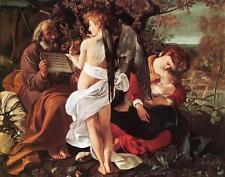 Huge Oil painting Rest on Flight to Egypt Madonna & child and angel no framed