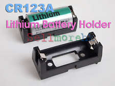 Brand New CR123A CR123 Battery Holder Clip Case PCB Solder Mounting DIY