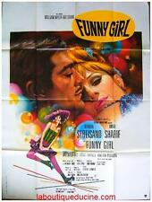FUNNY GIRL Affiche Cinéma / Movie Poster BARBRA STREISAND OMAR SHARIF