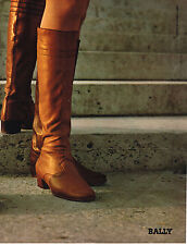 PUBLICITE  1967   BALLY  chaussures collection BOTTES