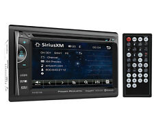 "Power Acoustik PD-621XB Double DIN CD/DVD Player 6.2"" LCD Bluetooth Sirius XM"