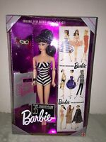 Barbie 35th Anniversary 1959 Brunette Barbie Doll & Packaging New In Box