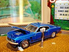 1969 FORD MUSTANG BOSS 302  FASTBACK LIMITED EDITION 1/64 GL 1960'S MUSCLE CAR