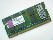 2GB DDR2-667 PC2-5300 200pin KINGSTON KTT667D2/2G LAPTOP SODIMM RAM MEMORY