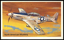 North American Mustang #3 Embassy World Of Speed Cigarette Card (C278)