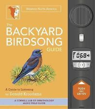 Western North America : A Guide to Listening EUC Backyard Birdsong Guide book