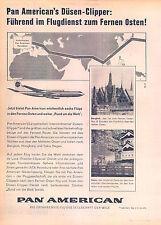 PanAm-Jet-Clipper-Hongkong-1960-Reklame-Werbung-vintage print ad-Publicidad