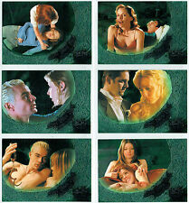 BUFFY SEASON 6 SET OF SIX LOVE BITES BACK CARDS