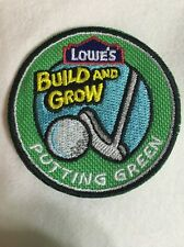 """Lot Of 8 Kid's Build Putting Green Activity Award 2"""" Patch Summer Camp Project"""