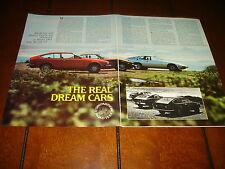 1976 DATSUN 280Z vs. PORSCHE 924 vs. ALFA ROMEO ALFETTA GT  - ORIGINAL ARTICLE