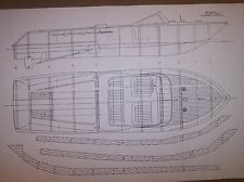 RIVA AQUARAMA model  boat ship  plans