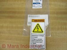 Clarion Safety H6010-BGWVPJ Warning Decals (Pack of 5)